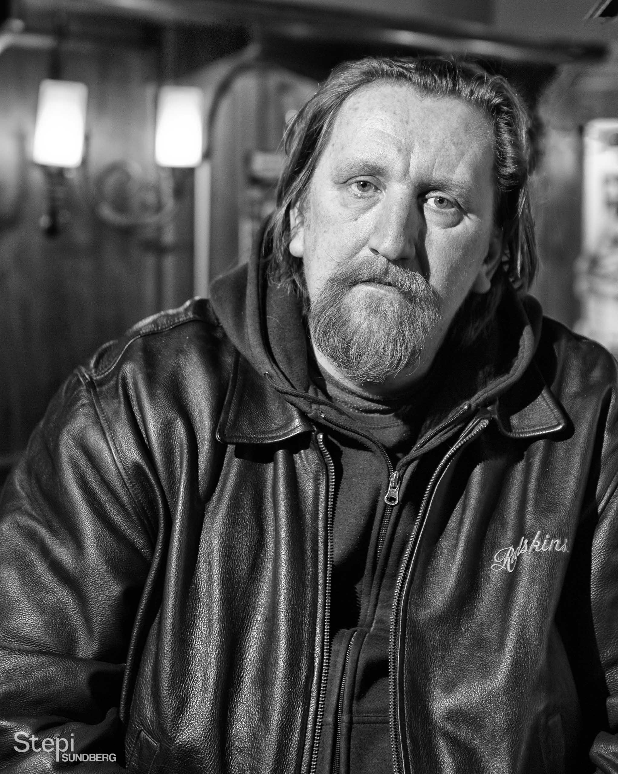 Henkilökuva miljöössä, Valokuvaaja Stepi Sundberg