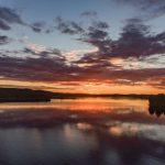 Ilmakuva auringonlasku, Valokuvaaja Stepi Sundberg