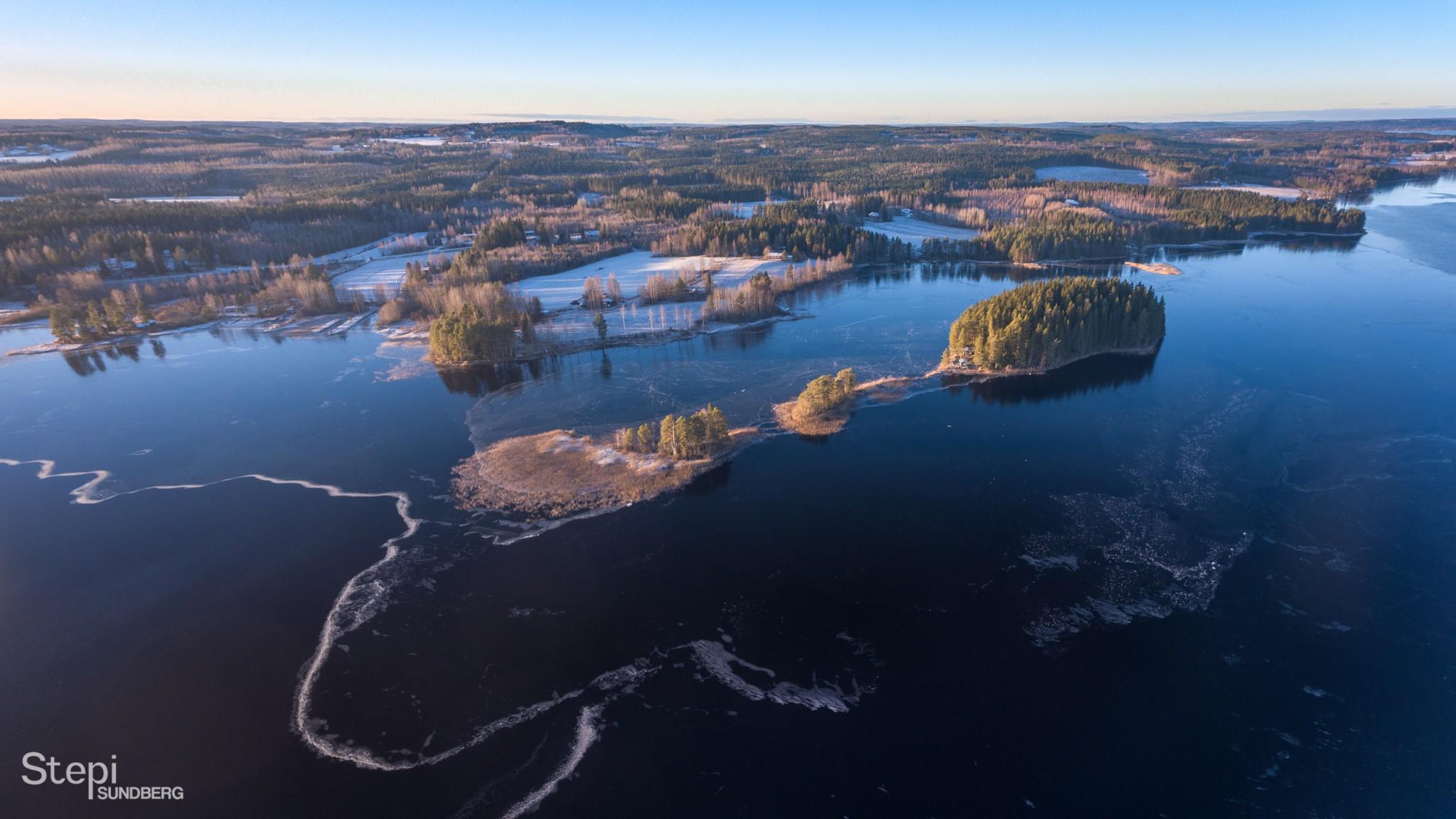Ilmakuva Lannevesi, Valokuvaaja Stepi Sundberg