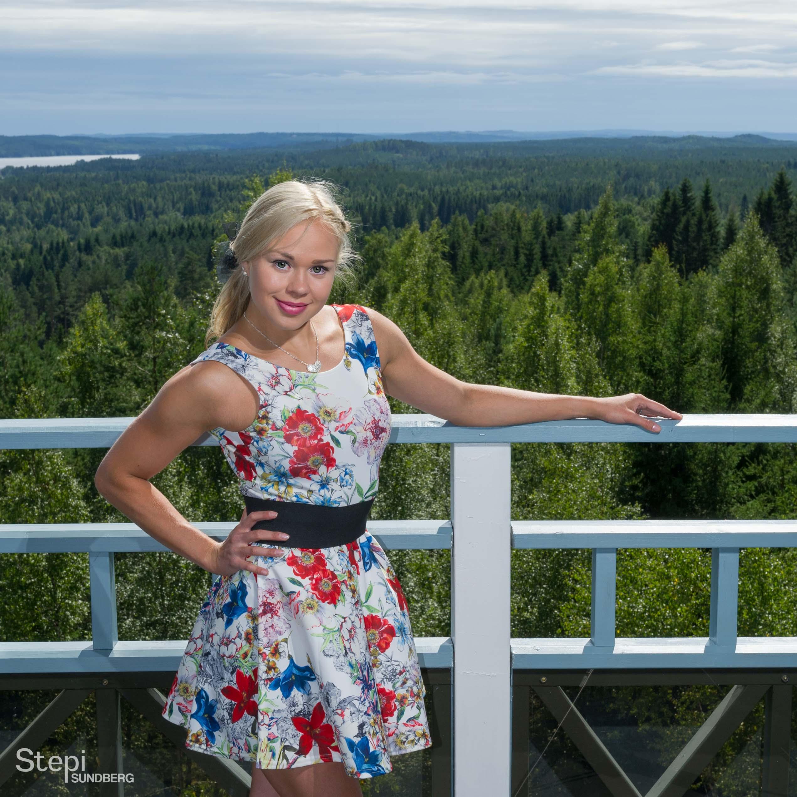 Mallikuva miljöössä, Valokuvaaja Stepi Sundberg
